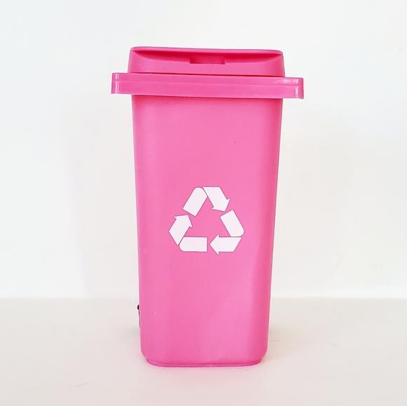 Barbie Doll Hot Pink Recycle Bin